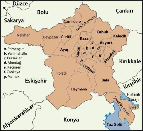Ankara Haritasý
